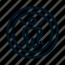 arrow, autism, circle, time icon