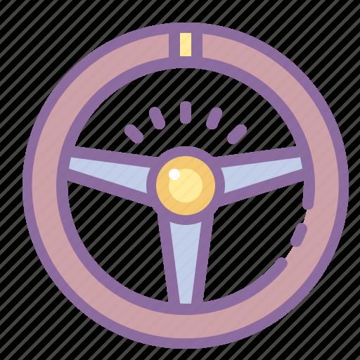 automotive, car, helm, rudder, steering, wheel icon