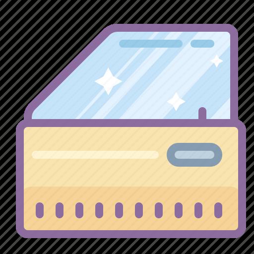 automotive, car, door, handle, window icon