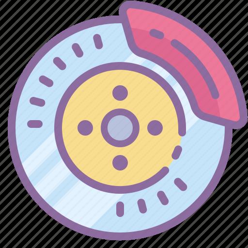 automotive, brake, car, disk, part, wheel icon