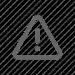 attention, warning light icon