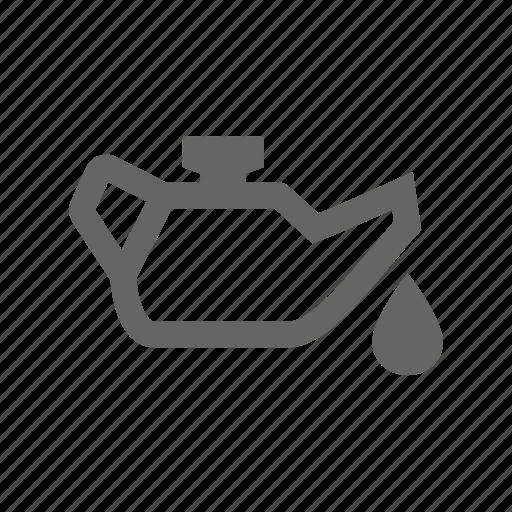 oil, oil can icon