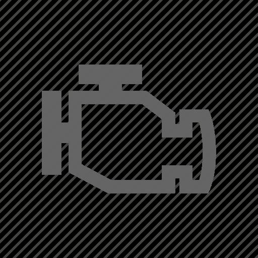 Engine, car icon
