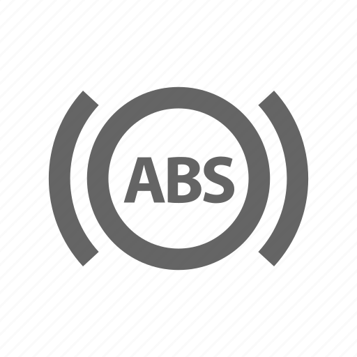 abs, warning light icon