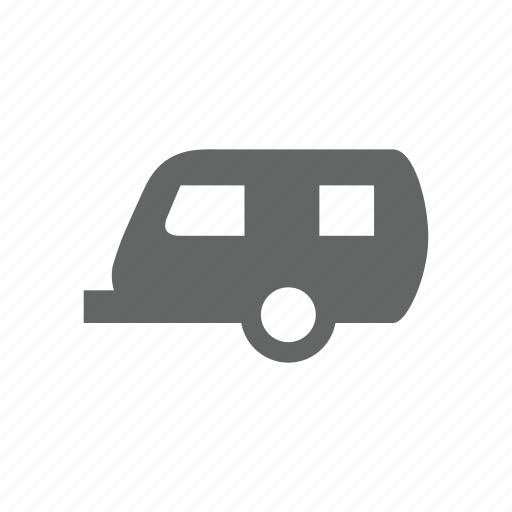 auto, automobile, trailer, transportation, vehicle icon