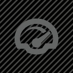 measure, speed, speedometer, watch icon