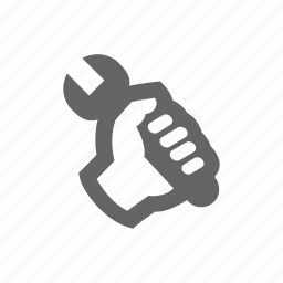 control, hand, repair, service, setting, tools, wrench icon