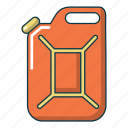 canister, car, cartoon, gas, gasoline, technology, water icon