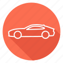 auto, automobile, car, jaguar, transport, vehicle icon