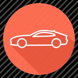 auto, automobile, car, jaguar, transport, vehicle icon