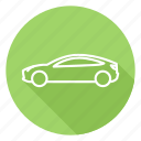 car, electric, electric auto, electric car, tesla, tesla 3, tesla modet three icon