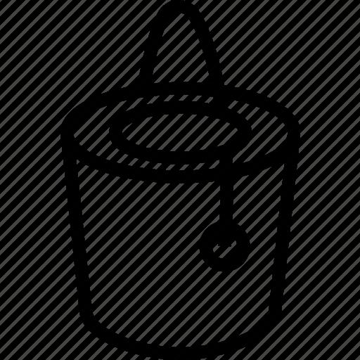 bucket, construction, paint icon