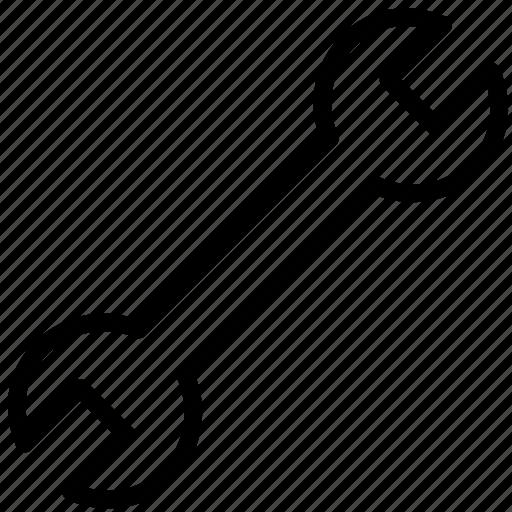 french, key, mechanics, tool icon