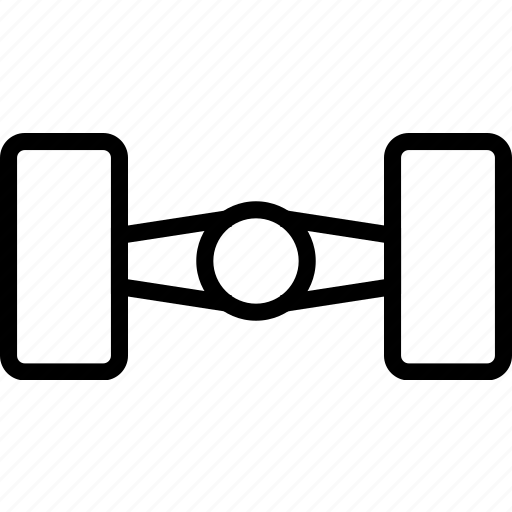 base, car, frame, wheels icon