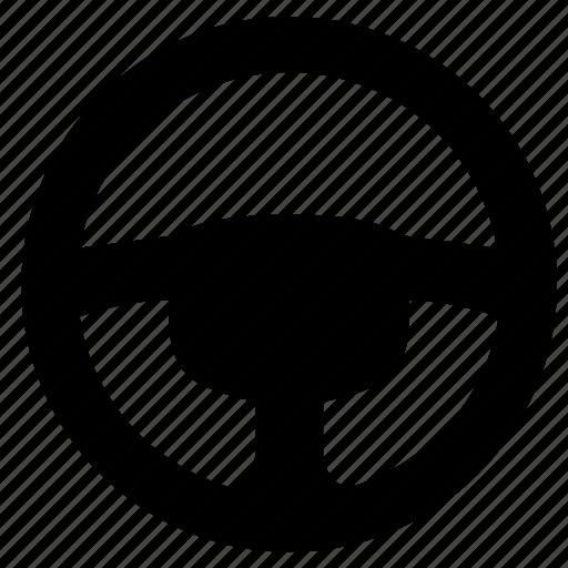 auto, car, control, driver, wheel icon