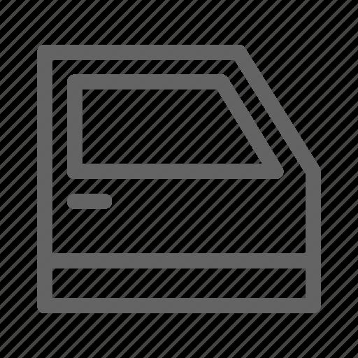 Automobile, car, door, handle icon - Download on Iconfinder
