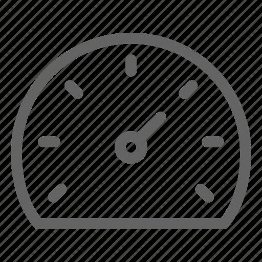 car, dashboard, gauge, speedometer icon