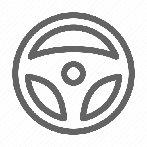automobile, drive, steering, wheel icon