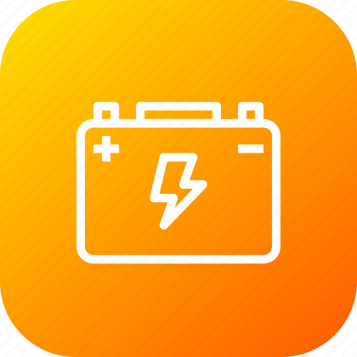 battery, car, jumper, power, starter, transportation, vehicle icon