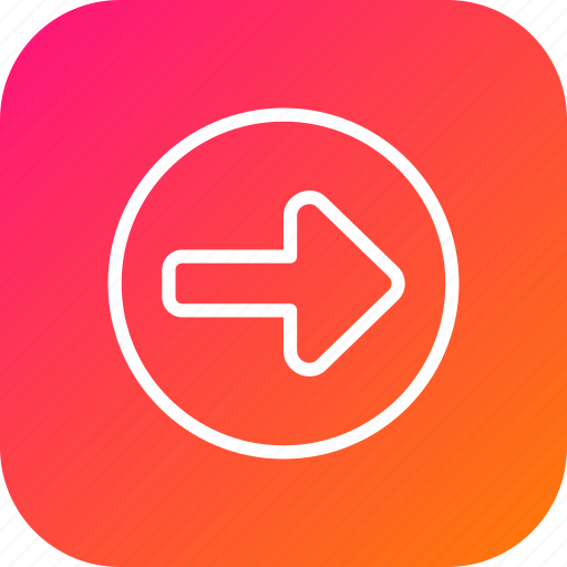 Arrow, direction, indication, right, rules, safety, turn icon - Download on Iconfinder