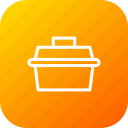 box, repairing, service, car, kit, suitcase, toolbox icon