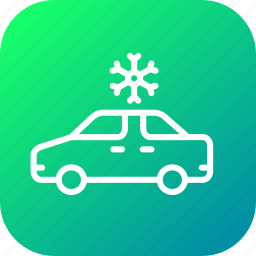 ac, air, car, conditioning, flake, ice, snow icon