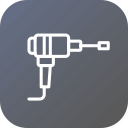 car, equipment, puncher, repairing, service, tool, toolbox icon