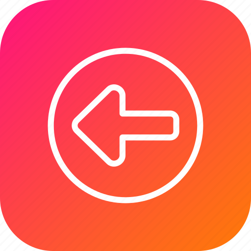 Arrow, direction, indication, left, rules, safety, turn icon - Download on Iconfinder
