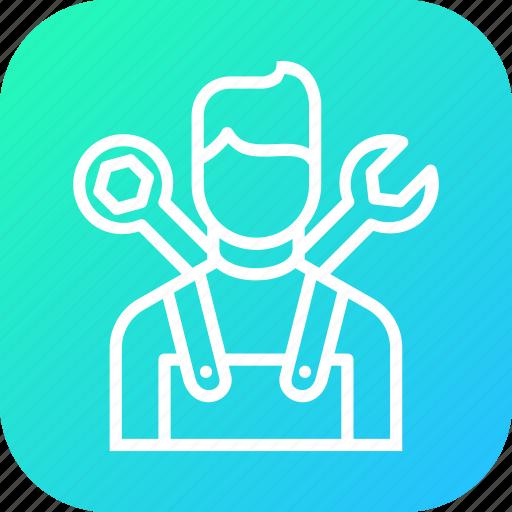 automobile, car, expert, mechanic, repair, service icon