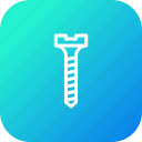 helix, pin, renovate, repair, screw, service, tool icon