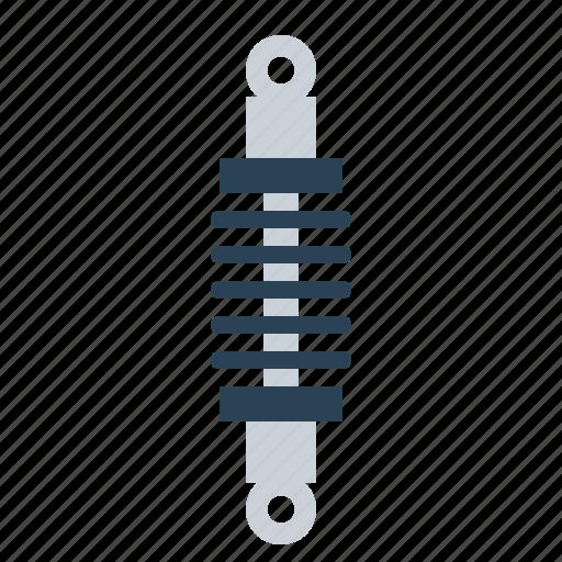automobile, car, parts, service, sespension, spring, strut icon