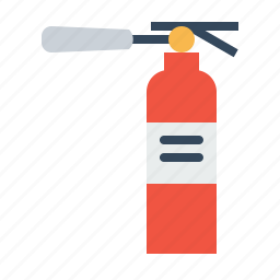 extinguisher, fire, protection, safe, safety, warning icon