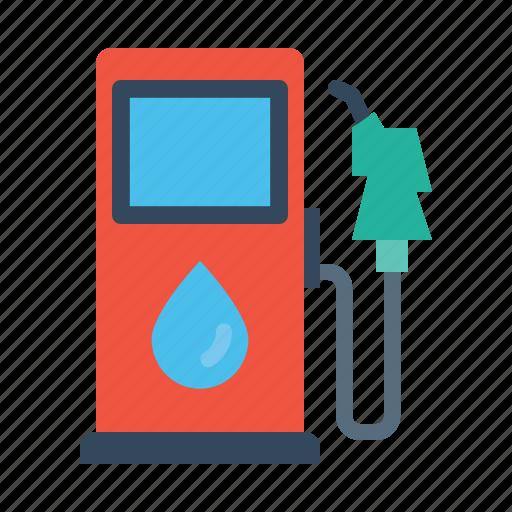 fuel, gas, gasoline, petrol, pump, station icon