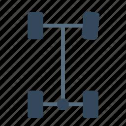 auto, autobalance, axel, car, part, service, tool icon