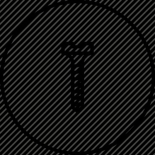 helix, pin, renovate, repair, screw, service, tool icon