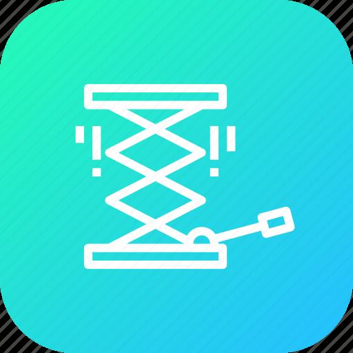 Car, garage, hosit, jack, lift, repair, service icon - Download on Iconfinder