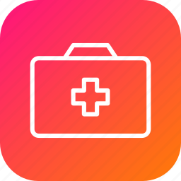 aid, emergency, first, kit, medical, service, tool icon