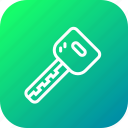 automobile, car, key, lock, transport, unlock icon