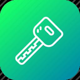 automobile, car, key, lock, transport, unlock icon
