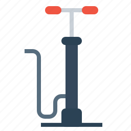 air, car, equipment, maintenance, pressure, pump, service icon