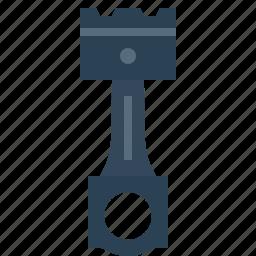 car, compression, forcer, piston, repair, service, tool icon