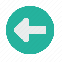 arrow, direction, indication, left, rules, safety, turn icon