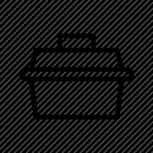 box, car, kit, repairing, service, suitcase, toolbox icon