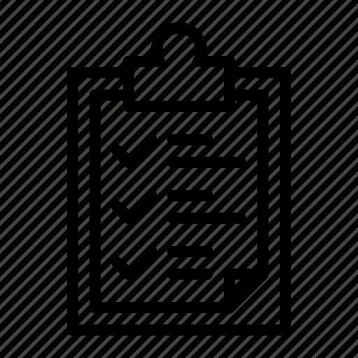 board, checklist, problem, service, station, task icon