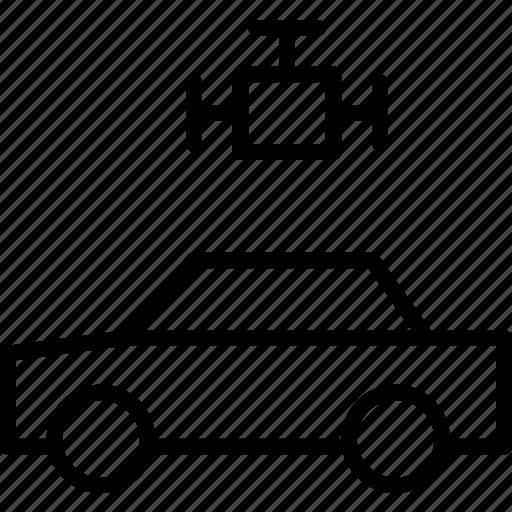 automobile, car, engine, motion, motor, power, vehicle icon