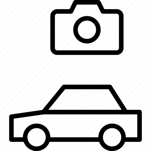 automobile, camera, car, image, photo, vehicle icon