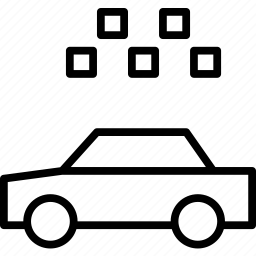 automobile, cab, car, taxi, transport, vehicle icon