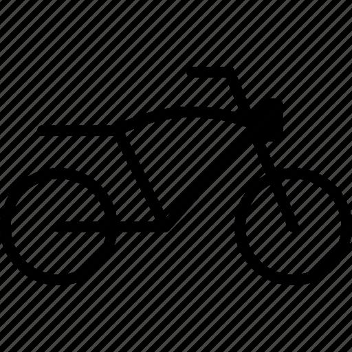 cafe, motorbike, motorcycle, racer, vehicle icon