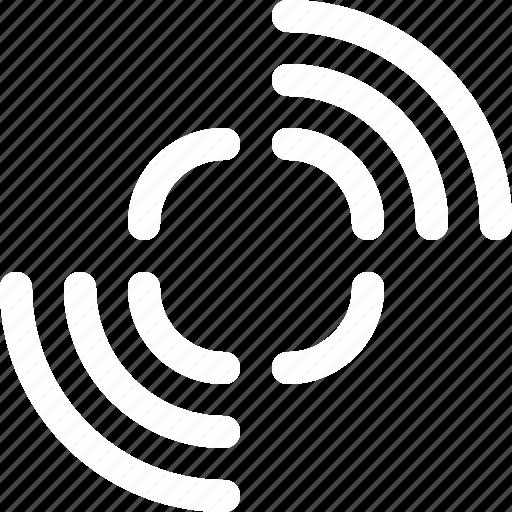 car, parking, radio, safe, sensors, waves icon