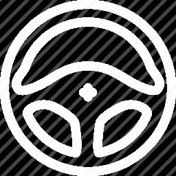 auto, car, drive, stearing, vehicle, wheel icon
